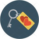 Key Lock Love Icon