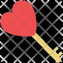 Key To Sign Icon