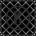 K Function Keyboard Icon
