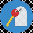Key Keychain House Icon