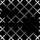 Key Access Arrow Icon