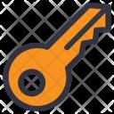 Key House Access Icon