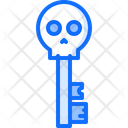 Key Skull Treasure Icon