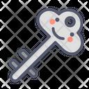 Safe Key Key Lock Icon