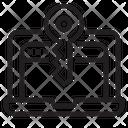 Key Secure Laptop Web Secure Icon