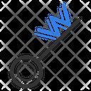 Key Keyword Label Icon