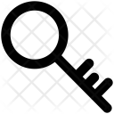 Key Retro Lock Icon
