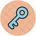 Key Door House Icon
