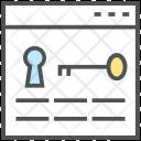 Key Wording Web Icon