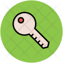Key Lock Hotel Icon