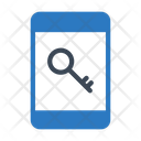 Key Lock Mobile Icon