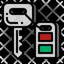Car Key Security Icon