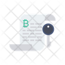 Key Private Document Icon