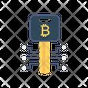 Key Bitcoin Private Icon