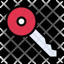 Key Lock Door Icon