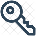 Key Password Open Icon