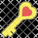 Key Love Couple Icon