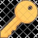 Business Marketing Key Icon