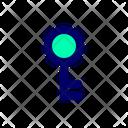 Key Password Protection Icon