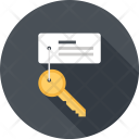 Key Keyword Search Icon