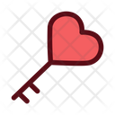 Love Key Icon