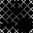 Key Down Arrow Icon