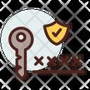 Key Password Protected Password Icon
