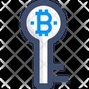 Key Bitcoin Key Key Icon