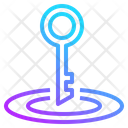 Seo Web Key Icon