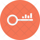 Key Keyword Optimization Icon