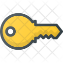 Key Password Interface Icon