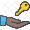 Key Share Care Icon