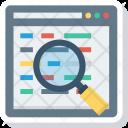 Key Keyword Search Icon