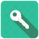 Key Access Lock Icon