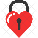 Key Lock Love Icon