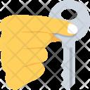Hand House Key Icon