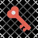 Key Access Romance Icon