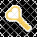 Key Access Unlock Icon