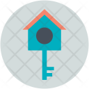 Key Lock Bird Icon