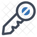 Key Access Unlock Icon