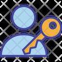 Access Account Key Icon