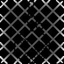 Key Chain Keyring Icon