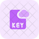 Key Cloud File Cloud File File Icon