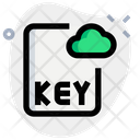 Key Cloud File Icon