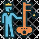 Key Customer Icon
