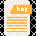 Key File Format Icon