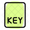 Key File Key Document Key Icon