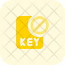 Key File Banned Key Banned File Banned Icon