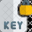Key File Lock Key Lock File Lock Icon