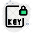 Key File Lock Icon
